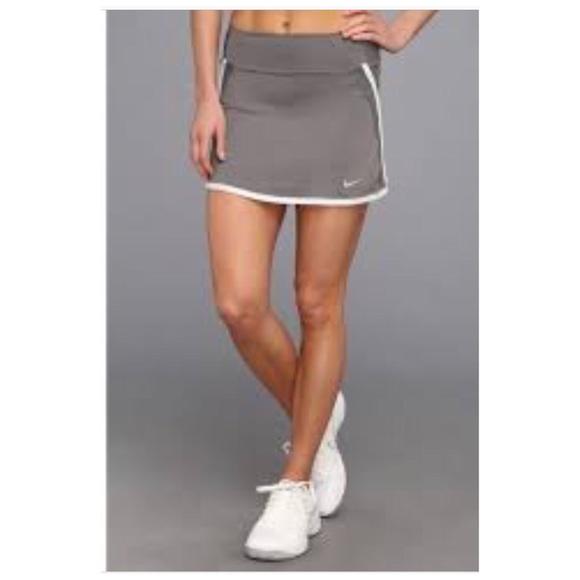 Nike Pants - Nike Power Skirt BluishGray White Mint Trim XL NWT
